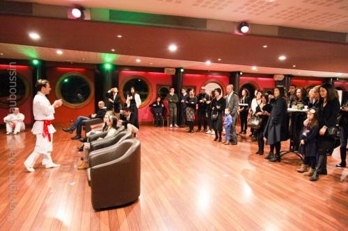 Démo - explications au public @ Gala Racines Coréennes ©Marlène Mauboussin