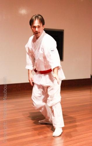 Démo - forme traditionnelle Ponttae @ Gala Racines Coréennes ©Marlène Mauboussin